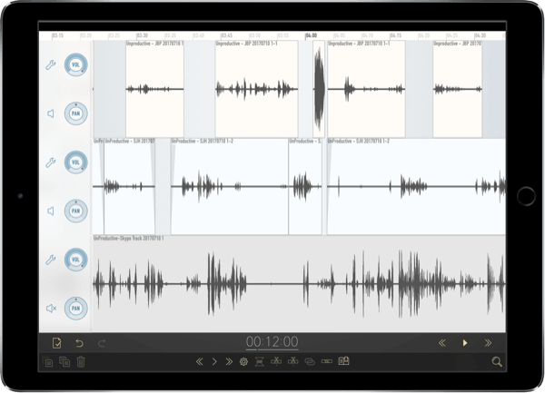 Ferrite iOS Digital Audio Workstation