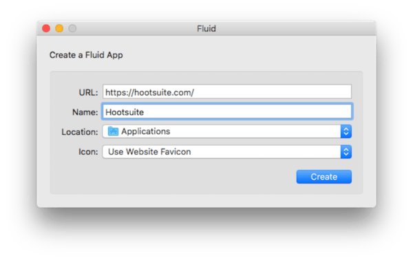 Fluid Native Macos App