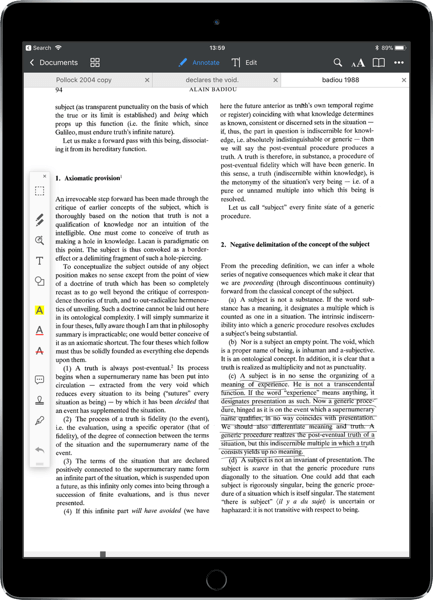 PDF Annotation on iOS