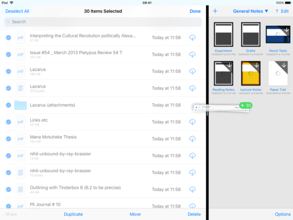 how to migrate Evernote data to another iOS app