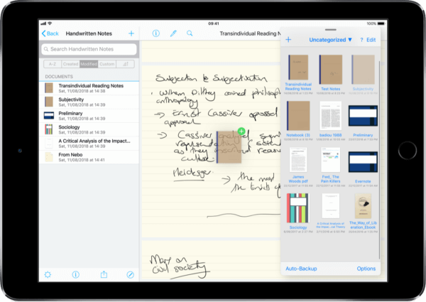 Handwriting Companion For Notebooks App