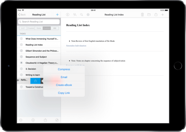 Ios Note Taking Automation Internal Linking